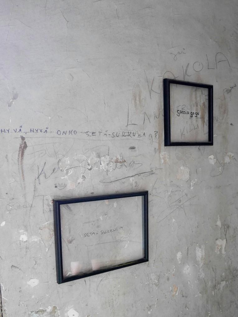 seinakirjoitus